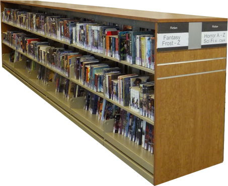Modular shelving storage | Libraries shelves - Quebec library systems