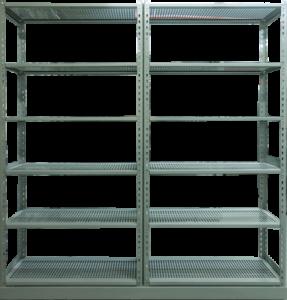 Systeme de rangement etagere mobile Deplacement manuel