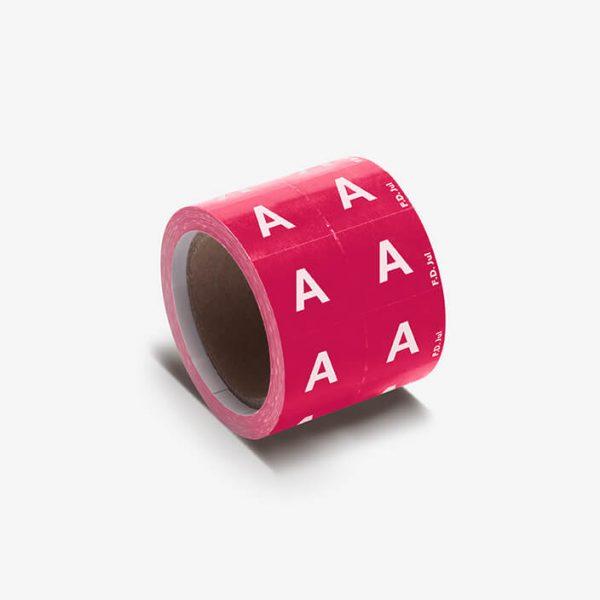 Lettre adhésive Alphabet | 250 - A B C D E F G
