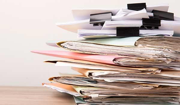 classement de documents / dossiers