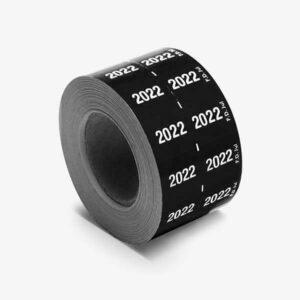 étiquette année 2022